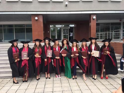 Дипломиране на випуск 2018